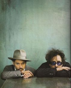 The Creative Duo Tim Burton & Johnny Depp