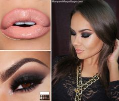 Classic Makeup: Contour  Smoke - ! Maryam Maquillage !