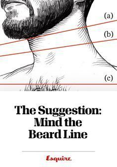 The line between lumberjack and high schooler's first beard lies somewhere near your Adam's apple. Get our tips on where to mark your beard line.