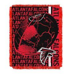 NFL® Atlanta Falcons Jacquard Throw