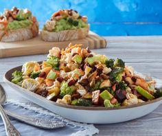 Σαλάτα ενέργειας με γλυκόξινο dressing (Boost salad) | Συνταγή | Argiro.gr - Argiro Barbarigou Food Categories, Salad Bar, Greek Recipes, Pasta Salad, Potato Salad, Salads, Food And Drink, Gluten Free, Vegan