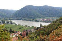 Dürnstein, Austria on Danube River