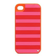 candy stripe silicone iphone case