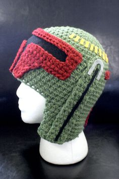 Star Wars Boba Fett Hat  Can I just say how awesome it would be if someone made me this?