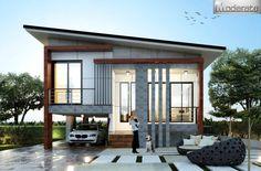 54 ideas for home plans bungalow exterior colors Modern Bungalow House, Bungalow Exterior, Exterior House Colors, One Storey House, Home Modern, Storey Homes, House Plans, New Homes, House Styles