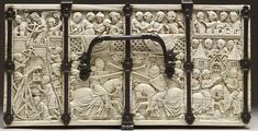 File:French - Casket with Scenes of Romances - Walters 71264 - Top.jpg