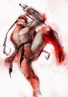 Teenage Mutant Ninja Turtle - Raphael by s-bis on deviantART