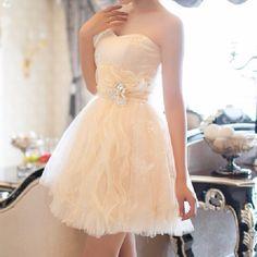 #gorgeous #dress #cream #sparkles