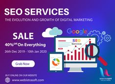 Looking for #SEO_services, but worried about the budget? Relax! Webistrasoft offers affordable #SEO packages in India to get you higher #keywordsrankings & #traffic. Our customized SEO plans help to maximize your results in Google.  View #SEO_Packages :  Get Everything 40% OFF till 10th JAN 2020 On New Year! Mail at: info@webistrasoft.com #digitalmarketing #marketing #socialmediamarketing #socialmedia #seo #business #branding #onlinemarketing #marketingdigital #contentmarketing #entrepreneur Digital Marketing Services, Seo Services, Online Marketing, Content Marketing, Social Media Marketing, Seo Packages, How To Get, How To Plan, How To Introduce Yourself