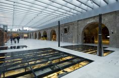 Bicentennial Museum / B4FS Arquitectos: From the architect. The project of restoration, refurbishment and conversion of the ancient Customs building includes the recovery of the site and its transformation into a contemporary museum.