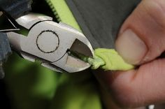 How to Fix a Broken Zipper -How to Fix a Broken Zipper We all have gear that use zippers—pants, packs, jackets, etc. At some point, and usually when you least want it to, the zipper will break. At best the zipper slides. At worst, it is jammed leaving you unable to access your gear.