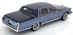 1982 Cadillac Fleetwood Brougham Light Blue and Dark Blue