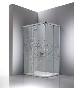 Find out all of the information about the PROFILTEK product: sliding shower screen STEEL. Bathroom Windows, Glass Bathroom, Glass Shower, Bathroom Interior, Sliding Shower Screens, Shower Doors, Glass Partition Designs, Glass Design, Steel Grill Design
