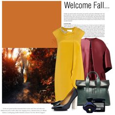 Welcome Fall... by helenmoses on Polyvore featuring мода, 3.1 Phillip Lim, Burberry, Christian Dior and Natori