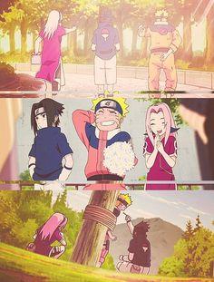 Sasuke, Naruto & Sakura