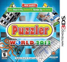 Puzzler World 2013 - Nintendo 3DS
