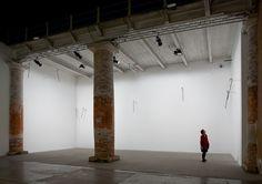 Photoshoot: Richard Wentworth, Walking Sticks, 53rd Venice Biennale  © Quintin Lake