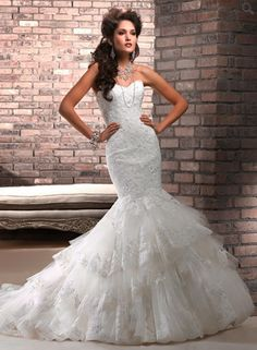 Maggie Sottero Adalee A36444  Bridal Reflections at Saks