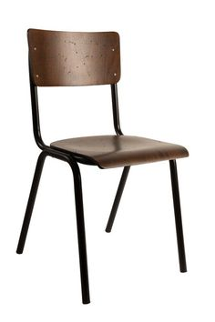 Spisebordstol i kryssfiner - Alle ordre over 2000 kr. Retro Dining Chairs, Wooden Dining Chairs, Garden Table And Chairs, Leather Dining Room Chairs, Painted Chairs, Cool Chairs, Dining Chair Set, Side Chairs, Dinner Chairs