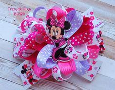 Minnie Mouse arco Minnie pelo arco Minnie ratón partido Minnie