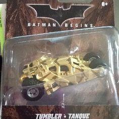 BATMAN BEGINS TUMBLER TANQUE 2012