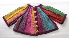 Ravelry: Kawaii Cardi pattern by Rian Anderson. Newborn to 2 years