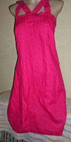 Brecho Online - Belas Roupas: Vestido Pink