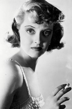 """Bette Davis, """" """"You should know me well enough by now to know I don't ask for things I don't think I can get."""" - Bette Davis, 1930s """""""
