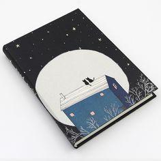 MOREUSEE Оригинальной Литературы и Искусства Notebook Спокойной Ночи Серии А5…
