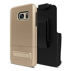 Seidio SURFACE with Metal Kickstand Case & Holster Combo for Samsung Galaxy S7 - Non-Retail Packaging - Gold/Black   http://huntinggearsuperstore.com/product/seidio-cell-phone-combo-pack-for-apple-iphone-66s-non-retail-packaging/?attribute_pa_color=gold-black