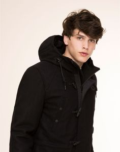 Simon Van Meervenne | Pull&Bear Hodded Long Coat 9752515