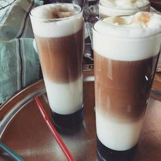 Beverages, Drinks, Barista, Glass Of Milk, Latte, Recipies, Cocktails, Food And Drink, Cooking Recipes