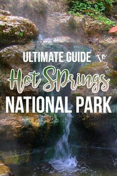 Ultimate Hot Springs National Park Travel Guide - Bearfoot Theory Explore Arkansas's Hot Springs National Park with our travel guide with details on trails, bathhouses, camping, lodging & where to find the best views. Us Travel Destinations, Places To Travel, Congaree National Park, Sequoia National Park, National Forest, Sedona Arizona, Bruce Peninsula, Arkansas Vacations, Arkansas Camping