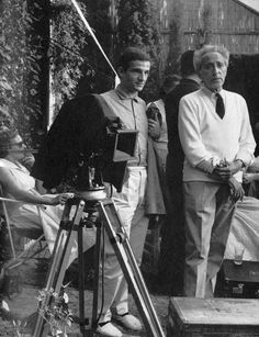 François Truffaut & Jean Cocteau, 1959.