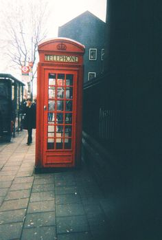 I've always wanted to make a phone call in a telephone booth.