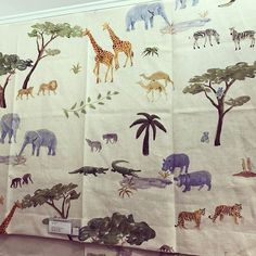 I NEED to do a little boys room in this @kravetinc fabric!!! #anyone?