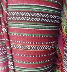 Tribal ethnic fabric for Tablecloth, Table Runner, Curtain, Cushion, Bag, Upholstery, sewing craft...  Hand Woven cotton fabric with high quality. FABRIC MEASUREMENTS---  Fabric Width : 58.26 inches (148 cms.) Fabric Length : 18.11 inches (46 cms.)  *The listing price is half(1/2) yard *Minimum Order is half(1/2) yard  *FABRIC CARE *   : 100 cotton ,Hand wash cold and air dry is the best.  : May be ironed on a low heat setting.  Multiple by yard orders are cut in one continuous piece. If you…