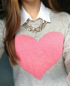corazon camisa                                                                                                                                                                                 Más