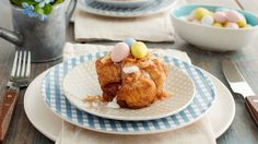 These cute and creative monkey bread nests are a perfect Easter brunch treat!