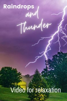 Listening to the thunder when sitting indoors can be soothing. You are also free from the rain, just wrap yourself with the blanket and enjoy. #relaxing sound of rain#relaxing sound of rain and thunder#relaxing sound of thunder#thunder sounds #relaxing rain#relaxing thunder#relaxing#sounds #gentle rain sounds#rain sounds for sleeping
