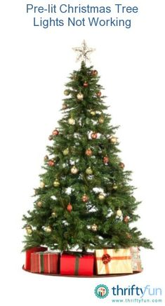 You plug the tree in but not all the lights are shining. This can be a frustrating situation, especially if the tree is only 2-3 years old. Often, a Christmas light tester is the easiest way to locate the problem area. This guide is about pre-lit Christmas tree lights not working.