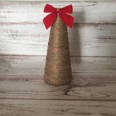 Twine Christmas Tree, Rustic Christmas Tree, Rustic Decor, Christmas Decoration, Twine Cone Tree, Farmhouse Decor, Handmade, Gift For Women by StargazerHomeDecor on Etsy