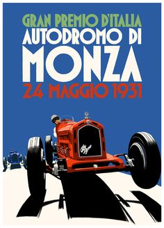 1931 Italian Grand Prix of Monza. The Alfa Romeo 8C 2300 'Monza', designed by Vittorio Jano, is widely considered the greatest racing car of all time. This car dominated the Grand Prix circuit from 1930 to 1934, collecting honors at Monaco, Le Mans and at Monza.