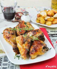 Pollo con patatas {horno} - L´Exquisit