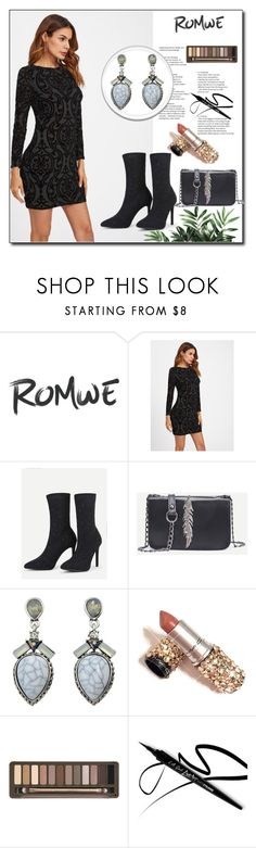 """ROMWE  - 6"" by thefashion007 ❤ liked on Polyvore featuring Urban Decay"