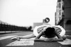 Urban ballerina.