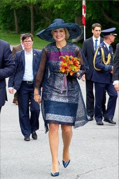 Queens & Princesses - King Willem Alexander and Queen Maxima began a three-day state visit to Canada.