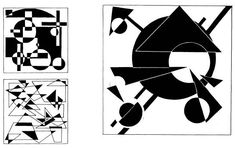 Основы композиции, часть 1, (руководство): Задание 6. Организация плоскости с помощью подобных элементов » Abstract Drawings, Art Drawings, Graffiti, Isometric Art, Design Basics, Composition Design, Commercial Art, Elements Of Design, Grafik Design