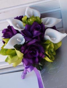 Shades of Purple,Lavender,White Altar,Centerpiece,Church Flower Arrangement.Wedding,Anniversary.. $229.00, via Etsy.