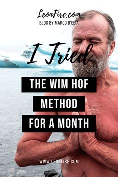 Spread the love I tried the Wim Hof Method for an entire month and I received so many benefits from it. The method consists of cold exposure and breathing exercises, which means taking cold showers Read more… Taking Cold Showers, Wim Hof, Lose Weight At Home, Qigong, Immune System, Natural Health, The Cure, Weight Loss, Exercises